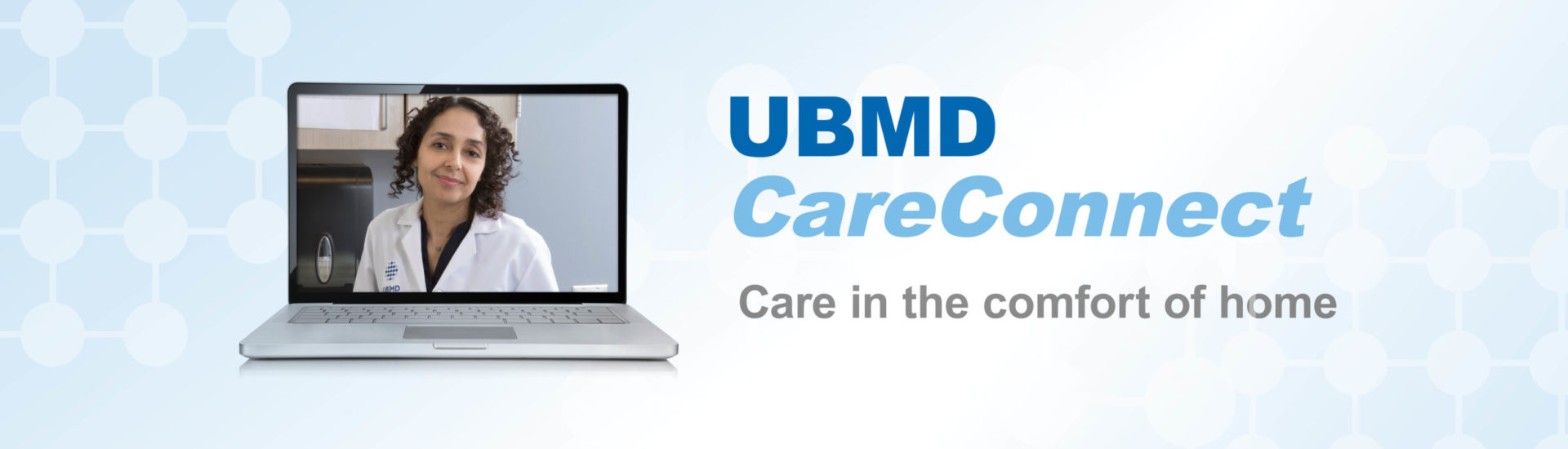 Photo promoting UBMD OBGYN CareConnect